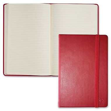 Quo Vadis – Cahier de notes Habana, 8 1/2 x 11 3/4 po, 80 feuilles, rouge