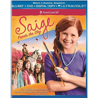 An American Girl: Saige Paints the Sky (Blu-Ray + DVD + copie numérique + UltraViolet)