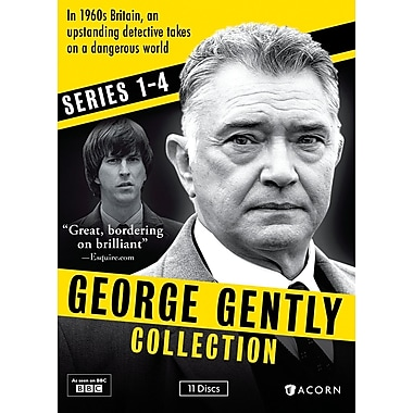 George Gently Collection Series 1-4 (DVD)