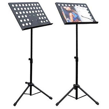 Adjustable Menu/Catalog Holder on Tripod, Black