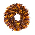 The Christmas Tree Company Autumn Myrtle 16in. Dried Floral Wreath