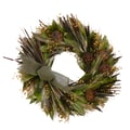 The Christmas Tree Company Russet Artichoke 18in. Dried Floral Wreath