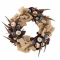 The Christmas Tree Company Mercury Merriment 22in. Dried Floral Wreath