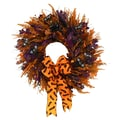 The Christmas Tree Company Frightful Fancy 22in. Dried Floral Wreath