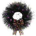 The Christmas Tree Company Spooky Speckles 22in. Dried Floral Wreath