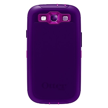 OtterBox Defender Galaxy S3, Purple/Plum, 7721380