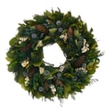 The Christmas Tree Company Regal Pinecone 22in. Dried Floral Wreath