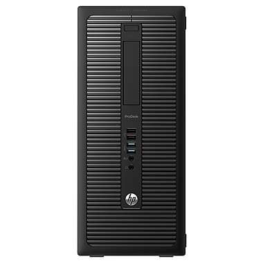 HP® 600 Intel Core i5-4670 Quad Core 3.4 GHz Desktop PC