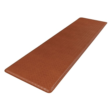 Gelpro® Basketweave Plush Mat, 20in. x 72in., Hazelnut