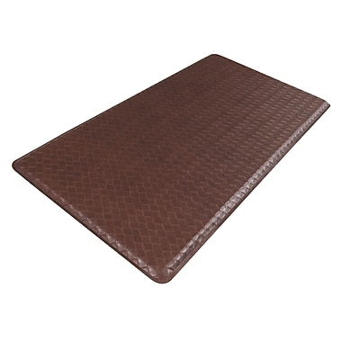 Gelpro® Basketweave Plush Mat, 20in. x 48in., Truffle