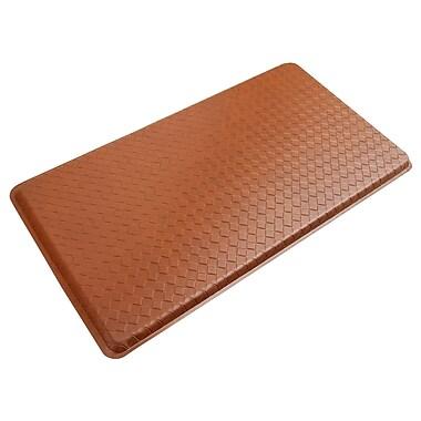 Gelpro® Basketweave Plush Mat, 20in. x 36in., Hazelnut