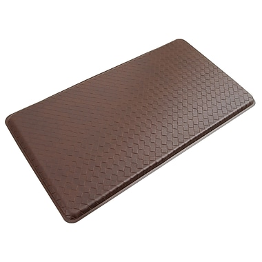 Gelpro® Basketweave Plush Mat, 20in. x 36in., Truffle