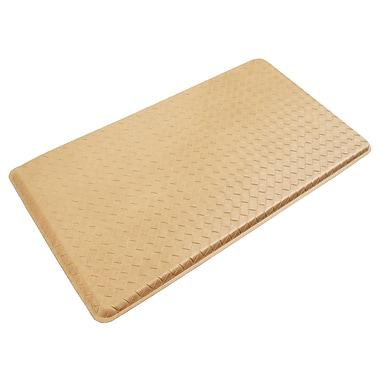 Gelpro® Basketweave Plush Mat, 20in. x 36in., Coquina