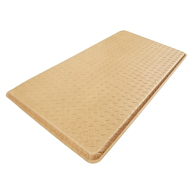 Gelpro® Basketweave Plush Mat, 28in. x 48in., Coquina