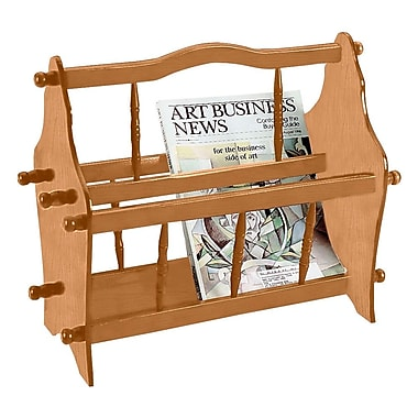 Ore International® 14in. Wood Magazine Racks