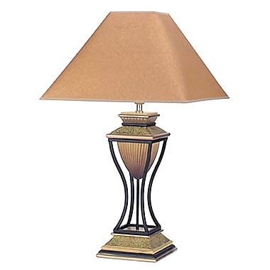 Ore International® 32in. Home Decor Table Lamp, Antique Bronze