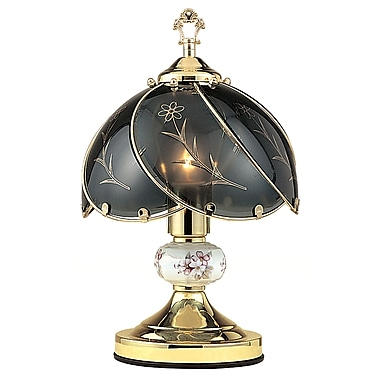 Ore International® 23 1/2in. Floral Touch Table Lamps