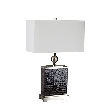 Ore International® 25in. Table Lamp, Dark Espresso