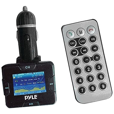 Pyle Wireless USB Bluetooth Car Hands-Free Kit, Black
