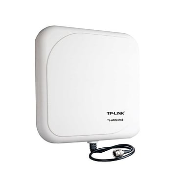 TP-LINK TL-ANT2414B 2.4GHz 14dBi Outdoor Directional Antenna, N Female connector, 1m/3ft cable