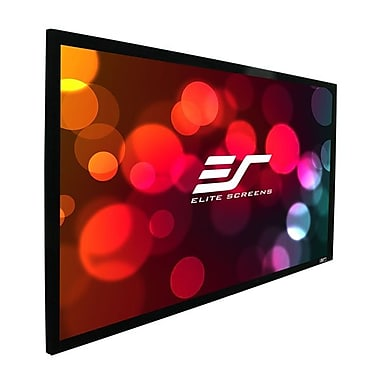 Elite Screens SableFrame AcousticPro 115in. Projection Screen, 2.351, Matte White