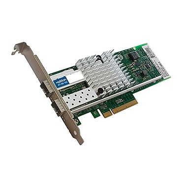 AddOn IBM 49Y7980 Compatible PCIe Network Interface Card with 2x Ethernet Slots PCIe X8