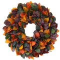 The Christmas Tree Company Fall Jewels 22in. Dried Floral Wreath