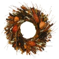 The Christmas Tree Company Prairie Dusk 18in. Dried Floral Wreath
