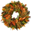 The Christmas Tree Company August Sunset 18in. Dried Floral Wreath