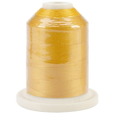 Signature 60 Cotton 3-Ply Mini King Spool, Sunflower, 1100 Yard
