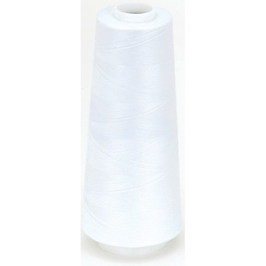 Surelock Overlock Thread, White, 3000 Yards
