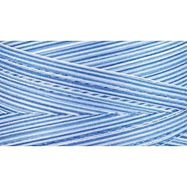 Natural Cotton Thread Variegated, Blue Awakening , 3,281 Yards