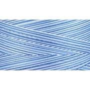 Natural Cotton Thread Variegated, Blue Awakening , 3,281 Yards