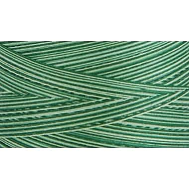 Natural Cotton Thread Variegated, Foliage Green, 3,281 Yards