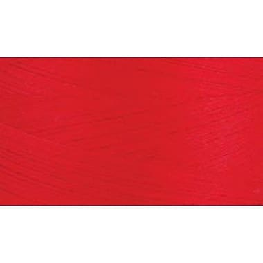 Natural Cotton Thread Solids, Red, 3,281 Yards