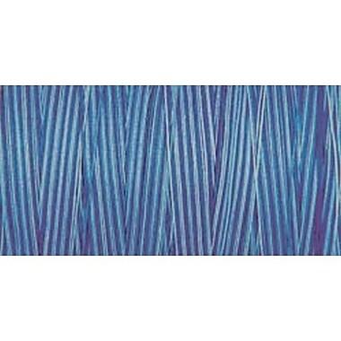 Natural Cotton Thread Variegated, Blue Awakening, 876 Yards