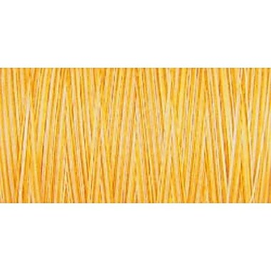 Natural Cotton Thread Variegated, Sunrise Sunset, 876 Yards