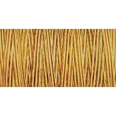 Natural Cotton Thread Variegated, Butternut, 876 Yards