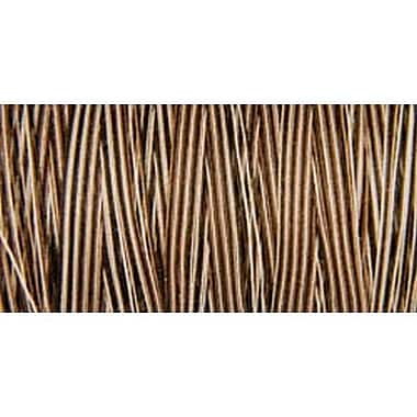 Natural Cotton Thread Variegated, Brown Sugar & Cinnamon, 876 Yards