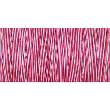 Natural Cotton Thread Variegated, Plum Berry, 876 Yards
