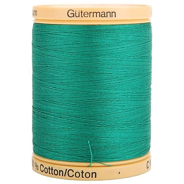 Natural Cotton Thread Solids, Garden Green, 876 Yards