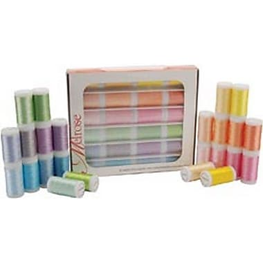 Melrose Trilobal Polyester Thread Assortment, Pastels