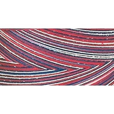 Star Mercerized Cotton Thread Variegated, Americana, 1200 Yards