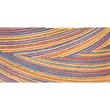 Star Mercerized Cotton Thread Variegated, Gum Balls, 1200 Yards
