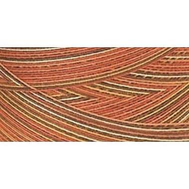 Star Mercerized Cotton Thread Variegated, Autumn, 1200 Yards
