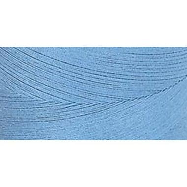 Star Mercerized Cotton Thread Solids, Medium Blue, 1200 Yards