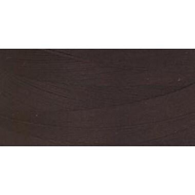 Star Mercerized Cotton Thread Solids, Chona Brown, 1200 Yards