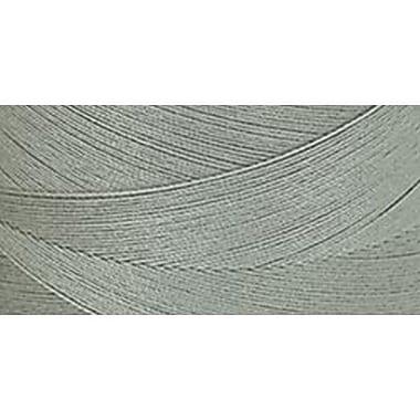 Star Mercerized Cotton Thread Solids, Green Linen, 1200 Yards