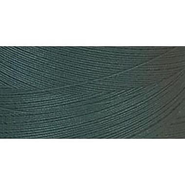 Star Mercerized Cotton Thread Solids, Forest Green, 1200 Yards
