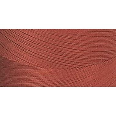 Star Mercerized Cotton Thread Solids, Rust, 1200 Yards